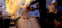 این دختر با ازدواج عجیب خود به شهرت رسید +عکس