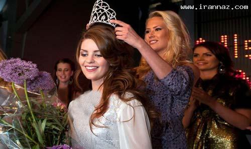عکس های زیباترین دختر شایسته نروژ در سال 2012