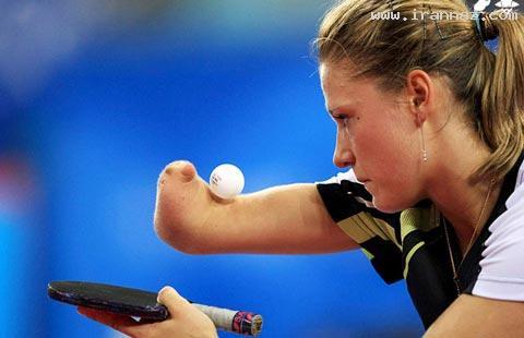 زن معلولی در المپیک که همه را مبهوت کرده +تصاویر