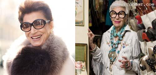 این زن 82 ساله قدیمی ترین مدل آمریکاست +عکس