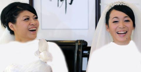 ازدواج 2 زن همجنس باز برای اولین بار در دنیا! +عکس