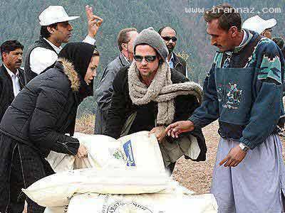 www.irannaz.com ورود انجلینا جولی به ایران برای کمک به زلزله زدگان+عکس