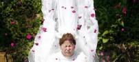 رسم عجیب و جالب در عروسی زنان تایلندی +عکس