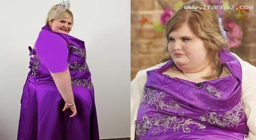 انتخاب زیباترین زن چاق و سنگین وزن جهان! +عکس