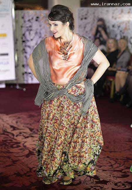 عکس هایی از مسابقه زیباترین زنان چاق در روسیه