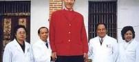 عکس های باورنکردنی از بلند قدترین دختر جهان