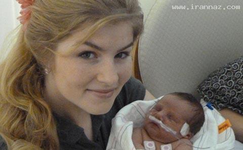 تولد فرزند نوزدهم پرجمعیت ترین خانواده آمریکا+عکس