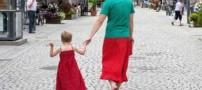 مردی که بخاطر پسر خود لباس زنانه میپوشد! +عکس