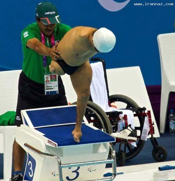 تکان دهنده و در عین حال زیباترین عکس از پارالمپیک!