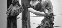 این مرد با بوسیدن معروف شد (بوسه زندگی) +عکس