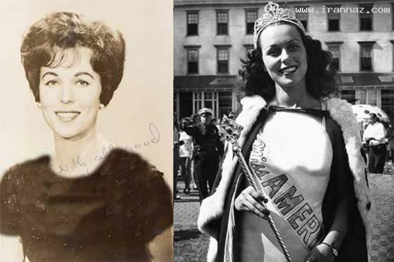 شایسته و زیباترین دختر آمریکا در سال 1945 +عکس