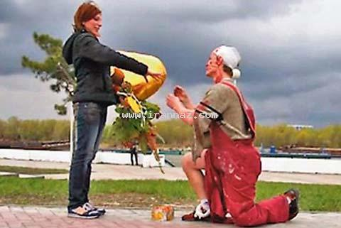 وحشت این زن از مراسم خواستگاری عجیب!! +عکس