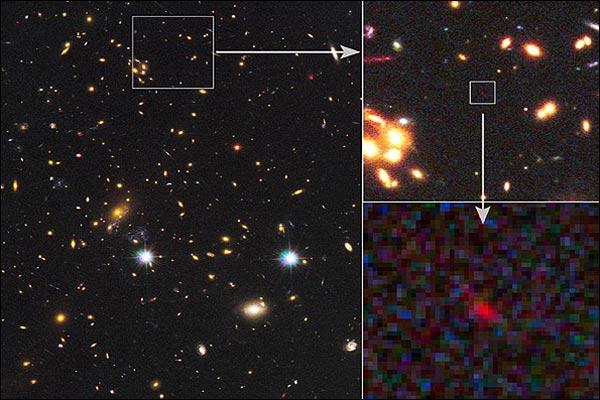 ثبت تصویری از کهکشان پس از 13 میلیارد سال!
