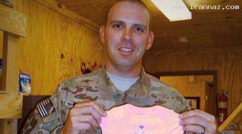 اقدام جالب سرباز آمریکایی برای سورپرایز همسر خود