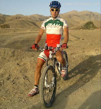 به قتل رسیدن قهرمان دوچرخه سواری ایران! +تصاویر