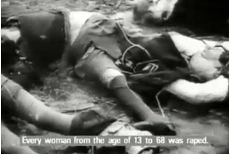 تجاوز به زنان آلمانی برای از بین بردن روحیه نازی ها!!