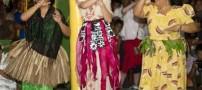سوژه شدن لباس سنتی و رقص کیت میدلتون +عکس