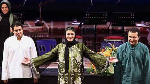 خوانندگی بازیگر زن معروف در کنسرت تهران! +عکس