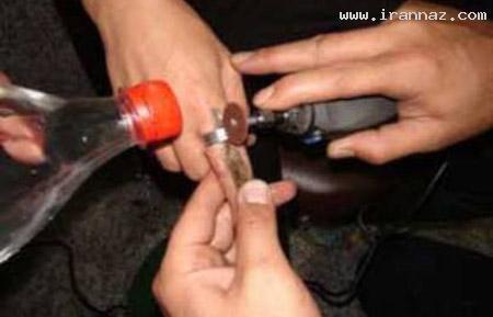 دردسر عجیب یک انگشتر برای این زن تهرانی +عکس