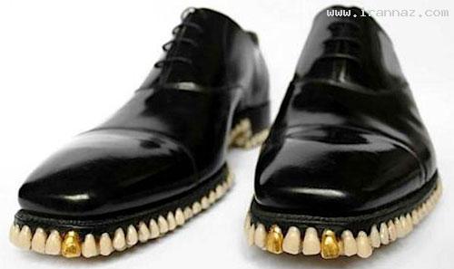 طراحی چندش آورترین کفش مردانه دنیا توسط یک زن