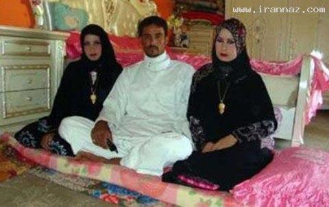 ازدواج همزمان یک مرد با دو عروس خانم و در یک شب
