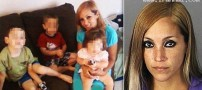 دستگیری بیرحم ترین مادر آمریکا هنگام تزریق هرویین