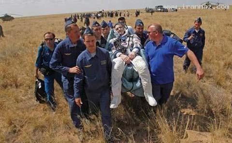 حال فضانوردان پس از فرود به زمین چطور است!