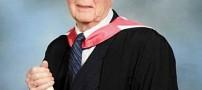 پیرترین دانشجوی جهان توانست فارغ التحصیل شود!