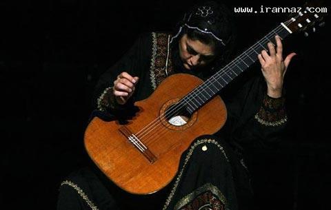 لیلی افشار، اولین زن که دکترای گیتار گرفت +عکس
