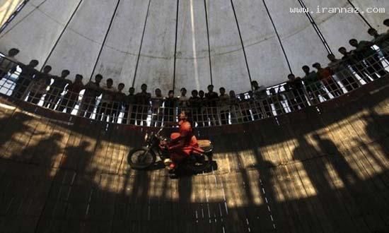 عکس های دیدنی و باورنکردنی از دیوار مرگ در هند
