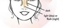 با کمک این آرایش بینی خود را کوچک کنید!!