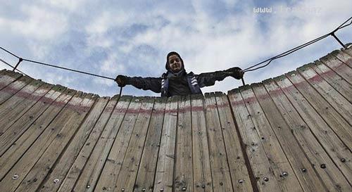 عکس های دیدنی دختر موتور سوار دیوار مرگ در ایران
