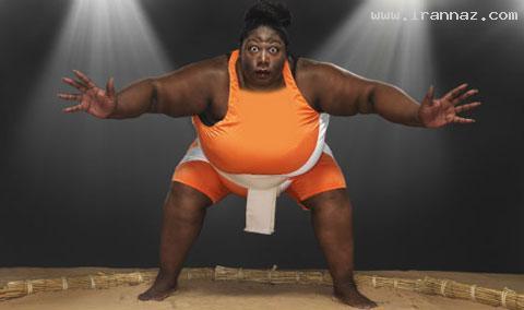 سنگین وزن ترین زن ورزشکار دنیا با 203 کیلوگرم وزن!!