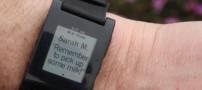 ساعتی هوشمند با قابلیت نمایش پیامک (sms)