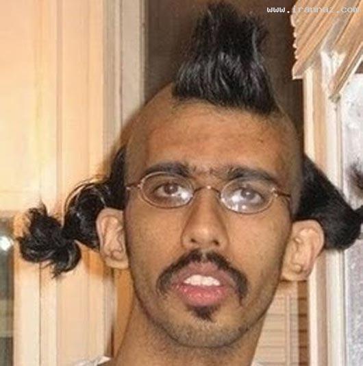 عکس هایی خنده دار و دیدنی از مو قشنگ ترین افراد ، www.irannaz.com