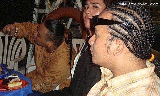 عکس هایی خنده دار و دیدنی از مو قشنگ ترین افراد