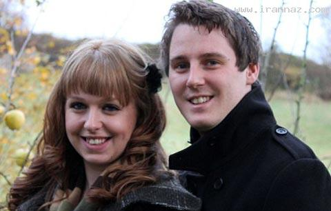 عشق و وفاداری این دختر خانم 25 ساله به نامزد خود