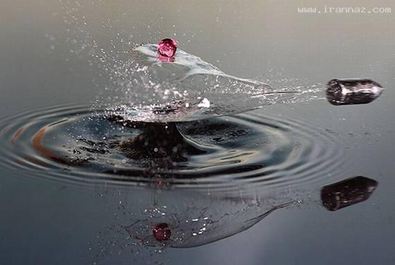عکس های زیبا و دیدنی که با سرعت بالا گرفته شده