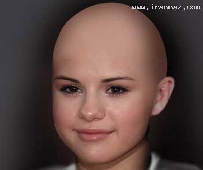عکسهایی از سوپر استارها با موهای تراشیده و کچل