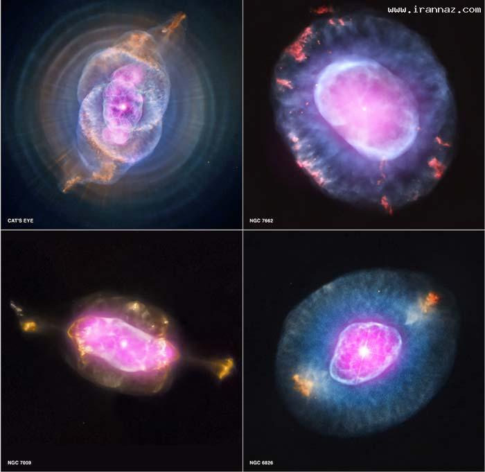 عکس هایی خارق العاده و حیرت انگیز از مرگ ستارگان