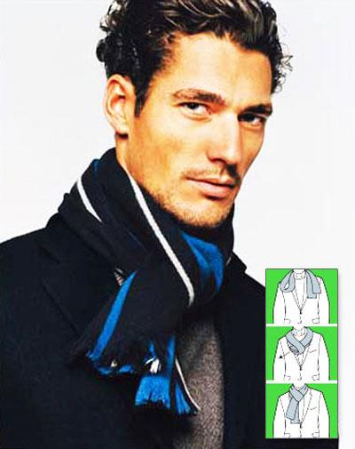 روش های مختلف بستن شال گردن برای آقایان
