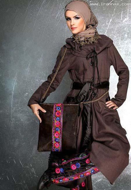 جدید و زیباترین مدل های مانتو برای پاییز سال 2012 ، www.irannaz.com