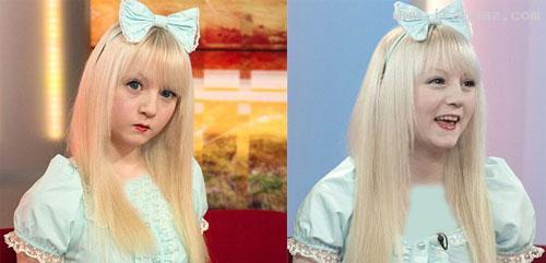 این دختر 15ساله مانند عروسک زندگی میکند (عکس)