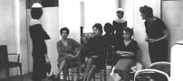 عکس فرح پهلوی در پاریس در حال خرید لباس نامزدی