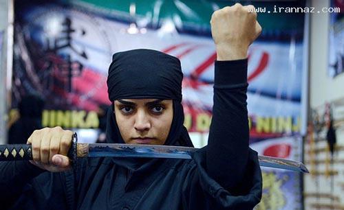 عکس های بسیار جدید و دیدنی از بانوان نینجای ایران