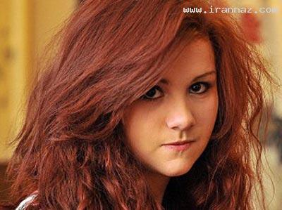 اخراج دختری از مدرسه بخاطر رنگ موهایش (+عکس)