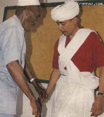 جنجال بر سر نقش روی انگشتر باراک اوباما! (+عکس)