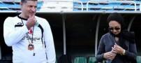 عکس های حضور نیکی کریمی در تمرین تیم راه آهن