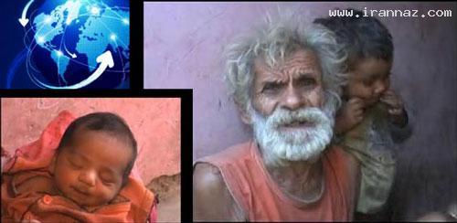 تولد فرزند پیرترین بابای دنیا با 96 سال سن! (+عکس)