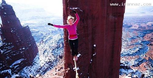 عکس های جالب و باورنکردنی از شجاع ترین دختر دنیا
